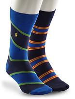 Polo Ralph Lauren® Stripe Socks – 2 Pk.