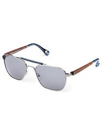 Robert Graham® Redford Square Aviator Sunglasses