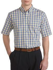 Cutter & Buck® Bradshaw Check Poplin Sport Shirt
