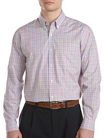 Cutter & Buck® Campbell Plaid Poplin Sport Shirt