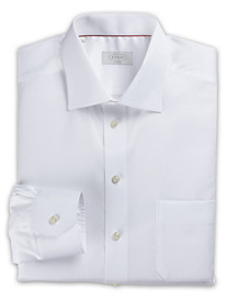 Eton® Herringbone-Weave Solid Dress Shirt