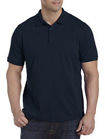Twenty-Eight Degrees Liquid Cotton Polo