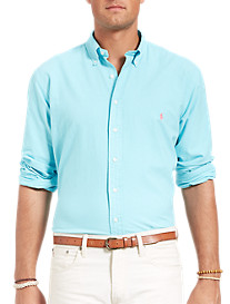 Polo Ralph Lauren® Solid Surf-Washed Oxford Sport Shirt
