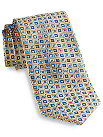 Robert Talbott Small Square Medallion Silk Tie