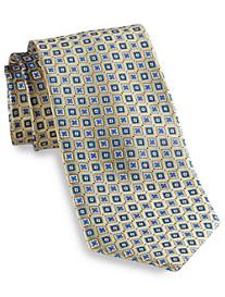Robert Talbott Small Square Medallion Silk Tie