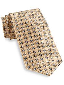 Robert Talbott Union Diamond Medallion Silk Tie