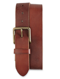 Lucky Brand® Vintage-Style Leather Belt