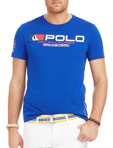 Polo Ralph Lauren® Sailing Team Graphic Tee   Tees