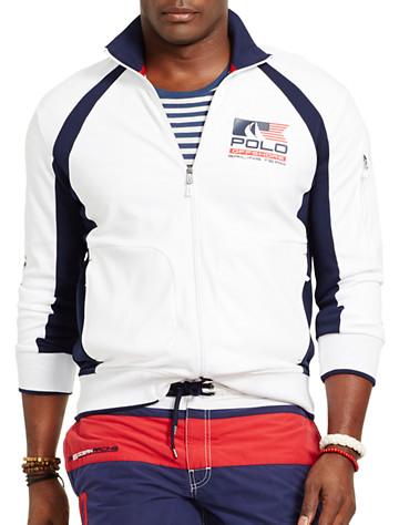 Big & Tall Polo Ralph Lauren® Yacht Racing Track Jacket D4095