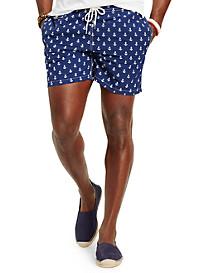 Polo Ralph Lauren® Traveler Anchor Print Swim Shorts