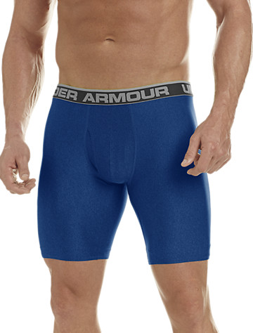 "Big & Tall Under Armour® Original Series 9"" Boxerjock® Boxer Briefs D4141"