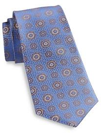 Rochester Medallion Silk Tie