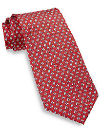 Rochester Sailboat Silk Tie