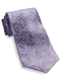 Rochester Printed Paisley Silk Tie
