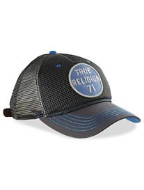 True Religion® Medallion Logo Baseball Cap