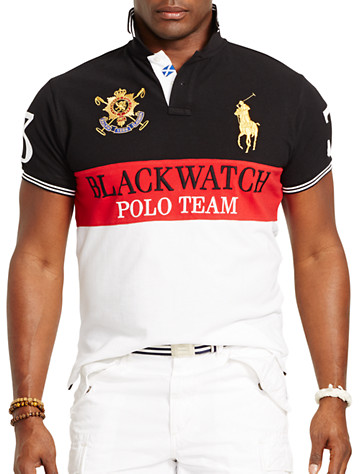 Polo Ralph Lauren® Black Watch Colorblock Mesh Polo | Polos