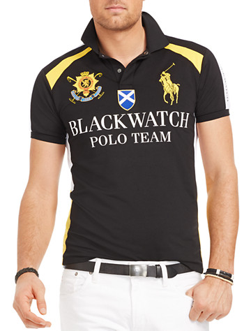 Polo Ralph Lauren® Black Watch Airflow Jersey Uniform Polo | Polos