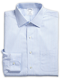 Brooks Brothers® Non-Iron Framed Stripe Dress Shirt