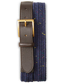 Brooks Brothers® Donegal Tweed Woven Stretch Belt