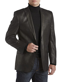 Marc New York Andrew Marc Metallic Faux-Suede Sport Coat