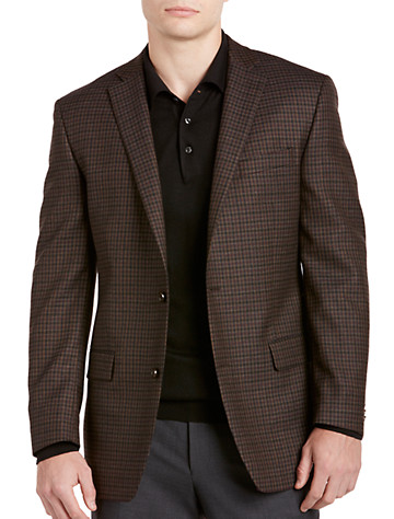 Michael Kors® Check Wool Sport Coat