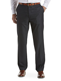 Michael Kors® Mini Windowpane Pleated Suit Pants