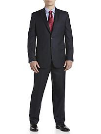 Jack Victor® Textured Windowpane Wool Nested Suit