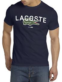 Lacoste® Vintage Graphic Crewneck Tee