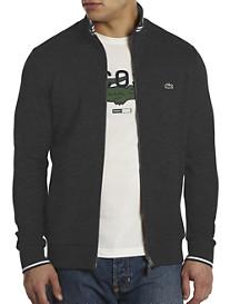 Lacoste® Waffle-Knit Full-Zip Jacket