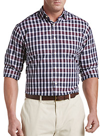 Tommy Hilfiger® Birds Plaid Sport Shirt
