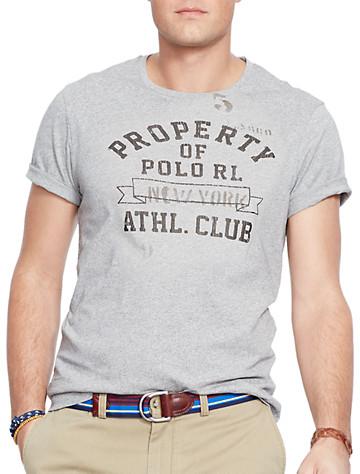 Polo Ralph Lauren® Athletic Club Graphic Tee