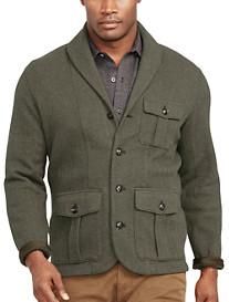 Polo Ralph Lauren® Herringbone Jacquard Shawl-Collar Cardigan