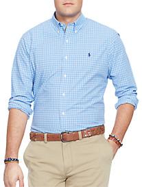 Polo Ralph Lauren® Mini Plaid Poplin Sport Shirt