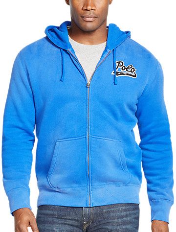 Big & Tall Polo Ralph Lauren® Stadium Fleece Full-Zip Hoodie D4410