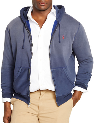 Big & Tall Polo Ralph Lauren® Fleece Full-Zip Hoodie D4412