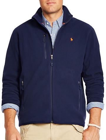 Big & Tall Polo Ralph Lauren® Microfleece Track Jacket D4413