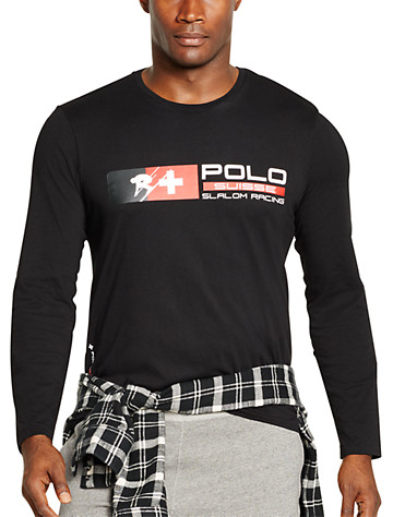Polo Ralph Lauren® Ski Crewneck T-Shirt