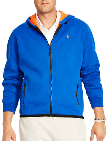 Big & Tall Polo Ralph Lauren® Fleece Full-Zip Hoodie D4416
