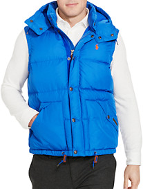 Polo Ralph Lauren® Elmwood Hooded Down Vest
