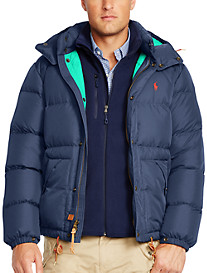 Polo Ralph Lauren® Elmwood Hooded Down Jacket