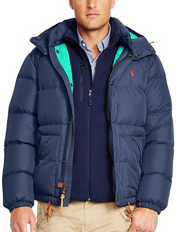 Polo Ralph Lauren? Elmwood Hooded Down Jacket
