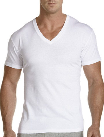 Polo Ralph Lauren® V-Neck T-Shirt (2 Pack) | Undershirts