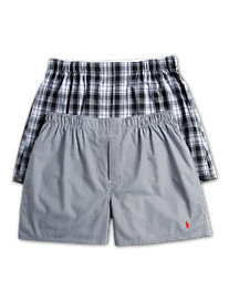 Polo Ralph Lauren® Woven Boxers (2 Pack)