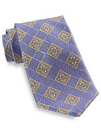 Robert Talbott Large Medallion Silk Tie