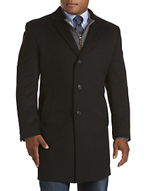 Kenneth Cole Raburn Single-Breasted Overcoat