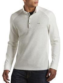 Calvin Klein Sport® Quarter-Snap Pullover