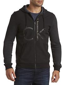 Calvin Klein Jeans® Full-Zip Hoodie with Neoprene Front