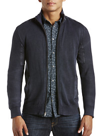 Calvin Klein Jeans® Naval-Inspired Zip-Front Cardigan