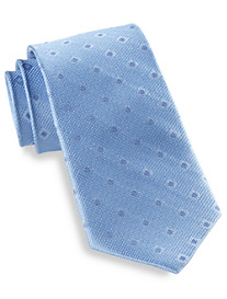 Rochester Square Dot Silk Tie