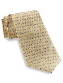 Rochester Hummingbird Printed Silk Tie